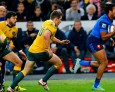 XV de France - FRA vs AUS - T.Thomas : 'Beaucoup de Joie'