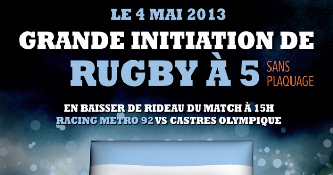 RM 92 vs CO - Initiation au rugby � 5