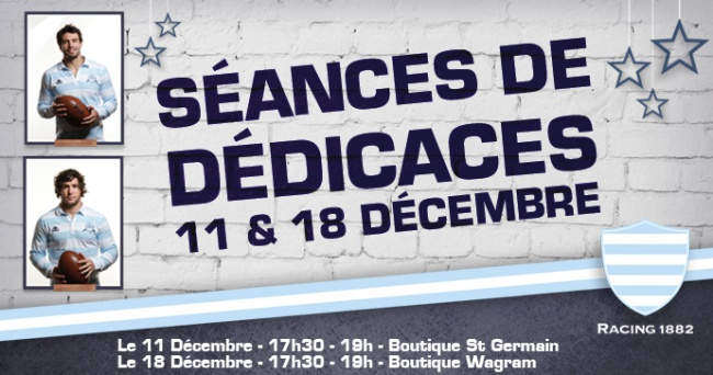 S�ance de d�dicaces � la boutique Saint-Germain !