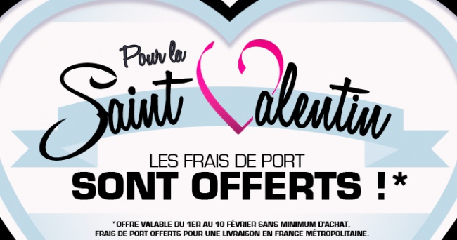 Valentine's Day offer on the club's e-boutique