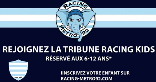 Enrol your children with the Racing Kids for Toulon !