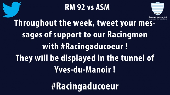 RM 92 vs ASM - Send your tweets of support
