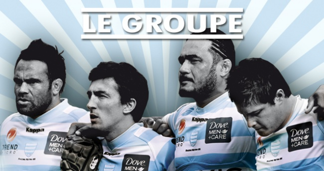RM 92 v London Irish - Le groupe du Racing